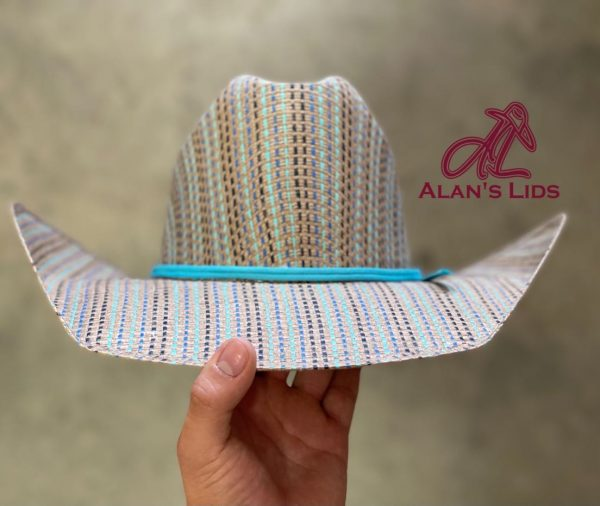 """IMG 5825 <ul> <li>Alan's Lids Straw</li> <li>Quality: 15X</li> <li>Brim: 4 1/4""""</li> <li>Comes open crown and brim to be custom shaped for every customer</li> </ul>"""