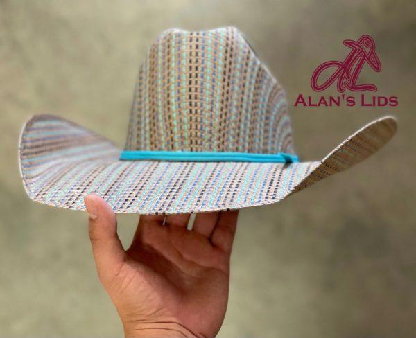 """IMG 5826 <ul> <li>Alan's Lids Straw</li> <li>Quality: 15X</li> <li>Brim: 4 1/4""""</li> <li>Comes open crown and brim to be custom shaped for every customer</li> </ul>"""